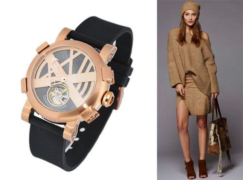 Часы от Romain Jerome