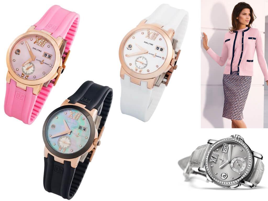 Женские часы Ulysse Nardin Dual Time Ladies Small Seconds из коллекции Classic