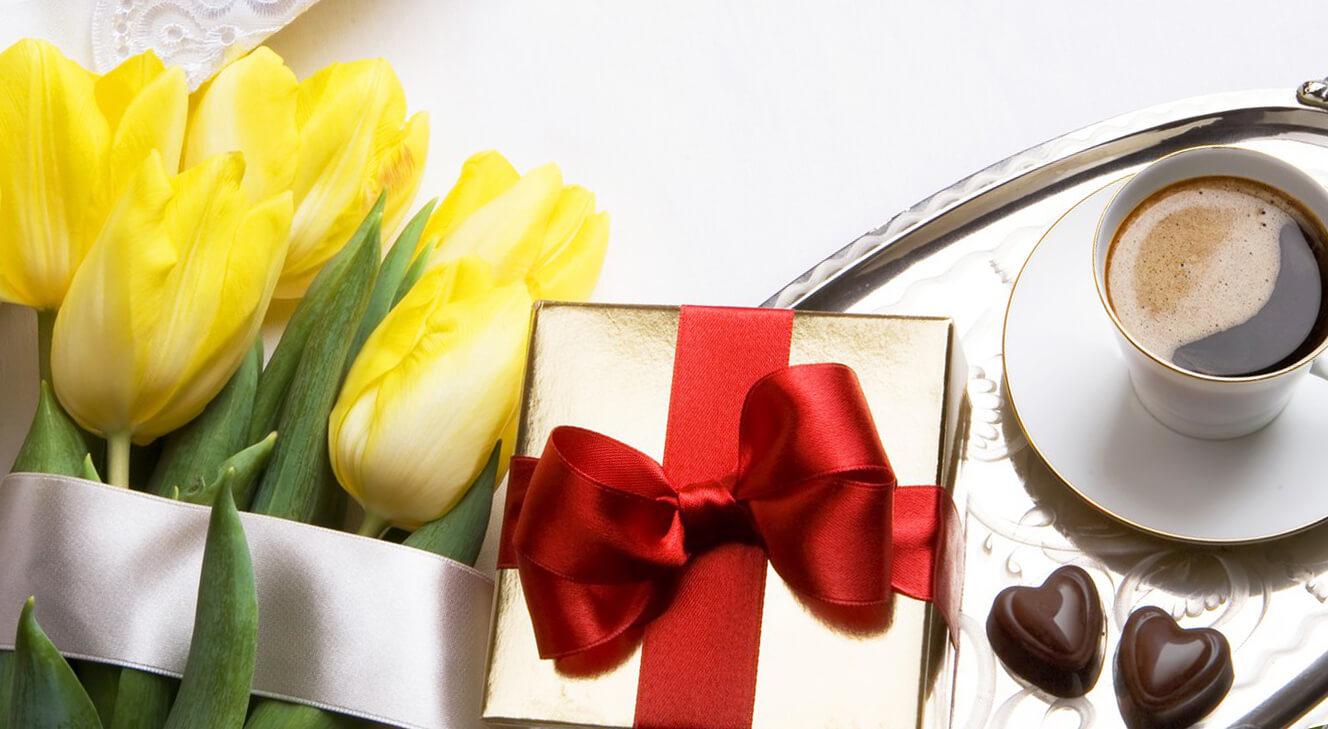 Подарок любимой девушке на День Святого Валентина