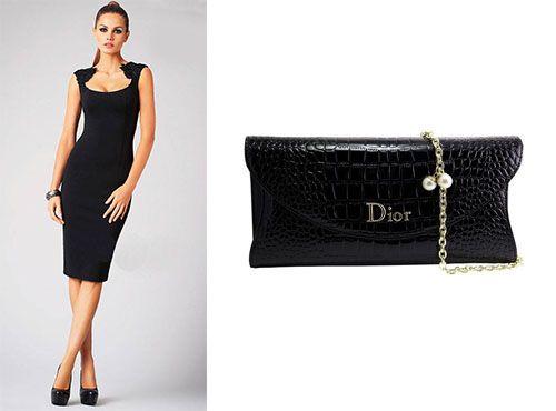 Клатч женский из кожи Christian Dior