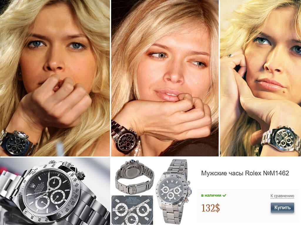 Часы Веры Брежневой Rolex Daytona