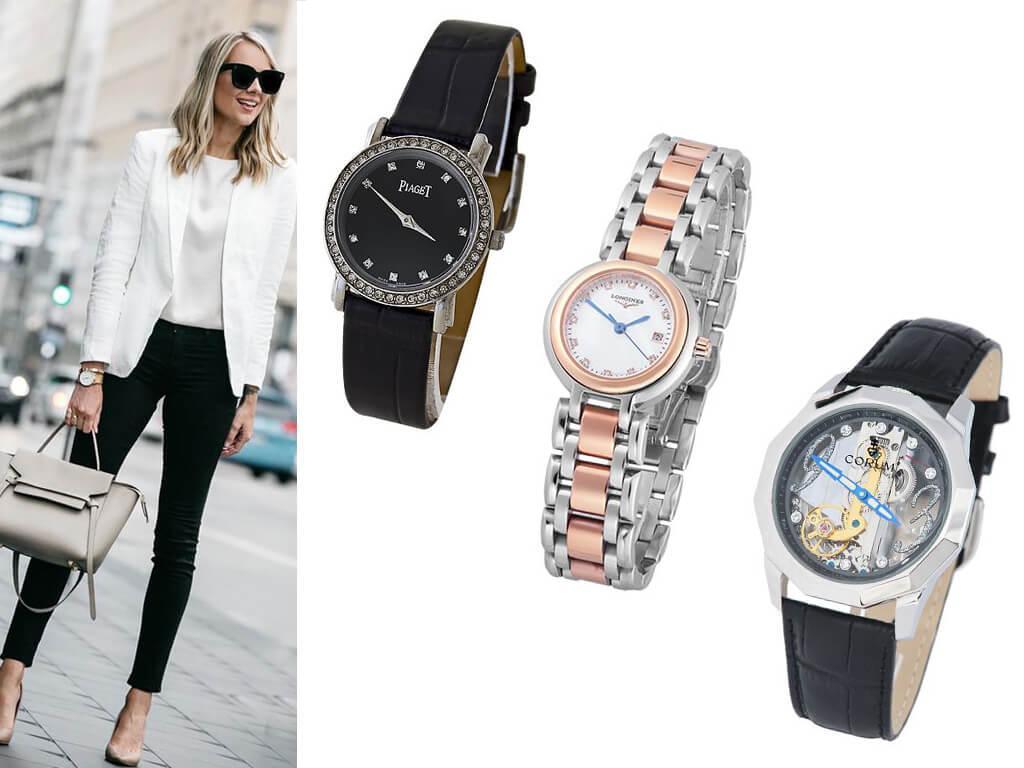 Актуальные в 2020 году модели женских наручных часов