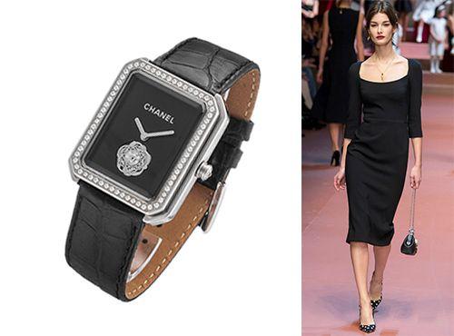 Классические женские часы от Chanel