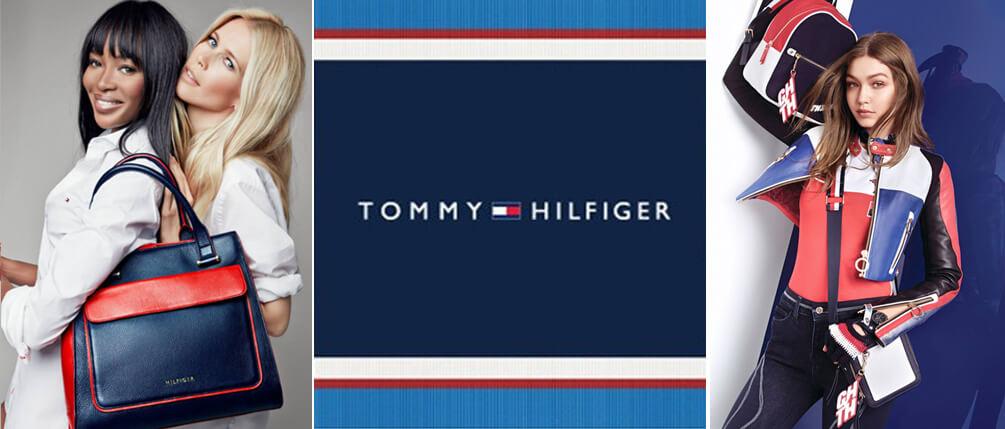 Вещи от Tommy Hilfiger носят звезды первой величины: Джессика Альба, Джиджи Хадид, Рене Зелвегер, Брэдли Купер, Ума Турман и др.