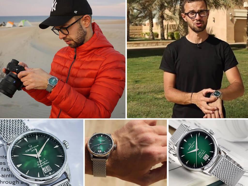 Антон Птушкин и его часы Сертина