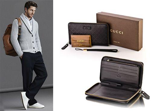 Кожаное портмоне Gucci