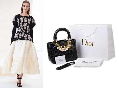Сумка Lady Dior женская