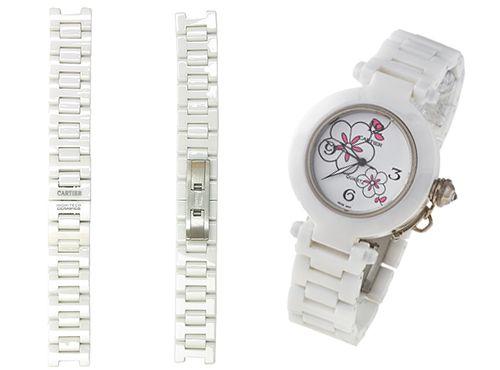 Керамический браслет для часов Cartier