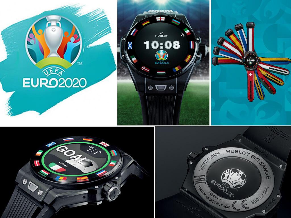 Официальные часы Евро-2020 - Hublot Big Bang UEFA EURO 2020