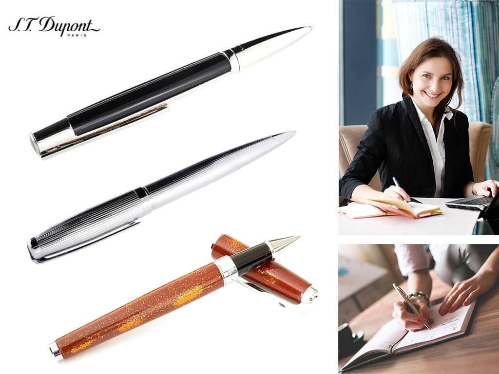 Ручки роллеры бренда ST Dupont