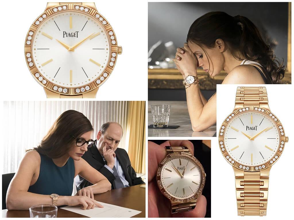 Наручные часы Молли Блум (Джессики Честейн) Piaget Dancer 38mm