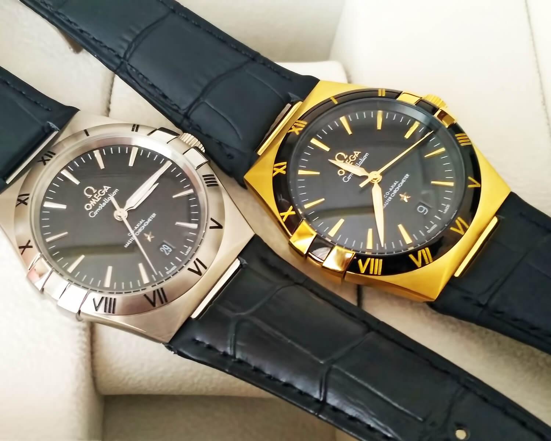 Точные реплики мужских часов Omega Constellation Co-Axial Master Chronometer 41 mm