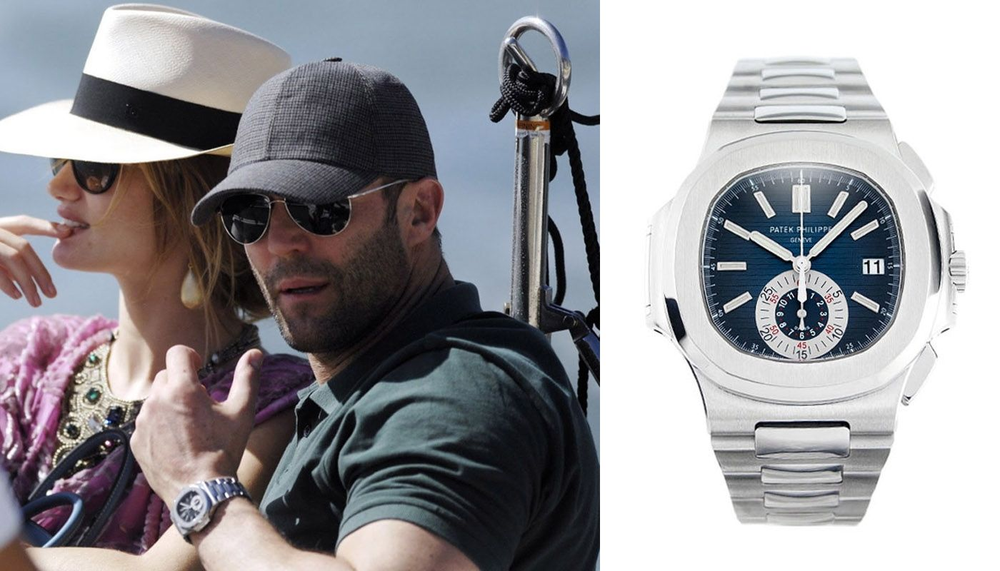 Часы Джейсона Стетхема Patek Philippe Nautilus