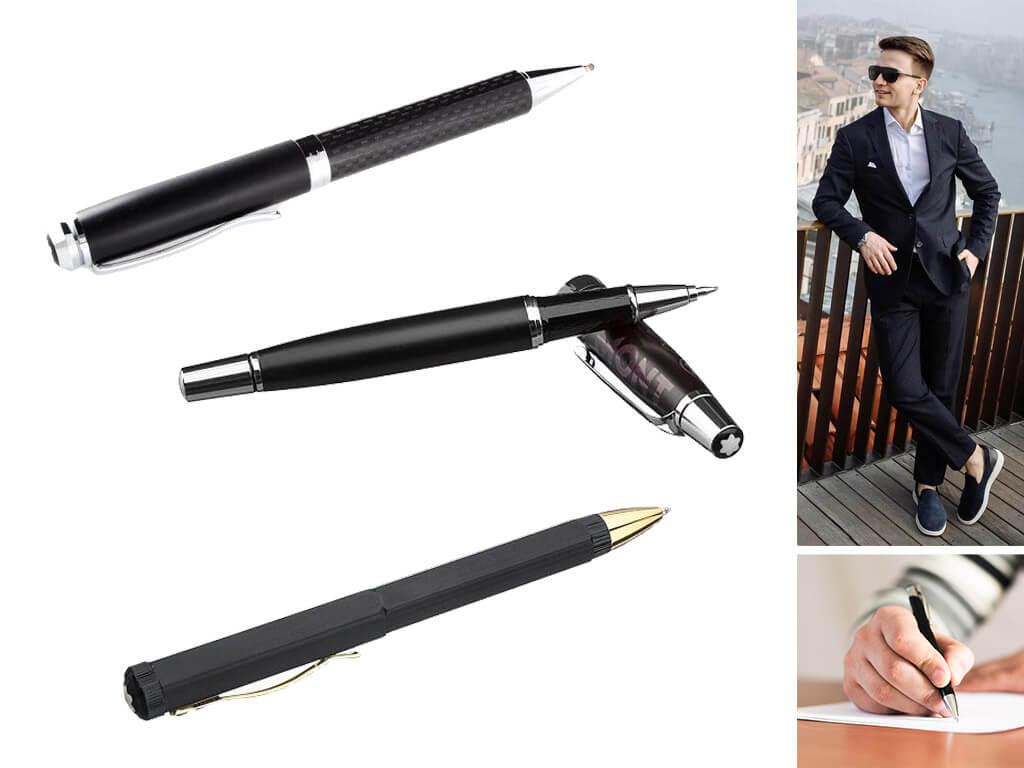 Женские и мужские ручки с матовой поверхностью