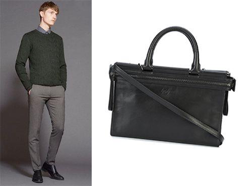 Yohji Yamamoto мужская сумка
