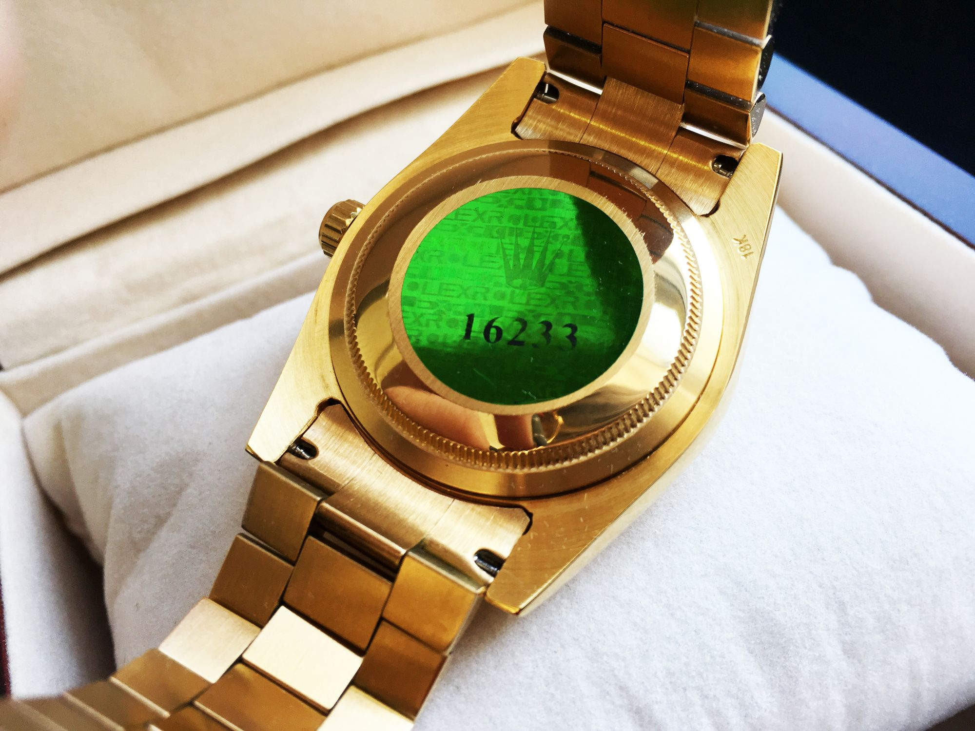 Маркировка Rolex Day-Date