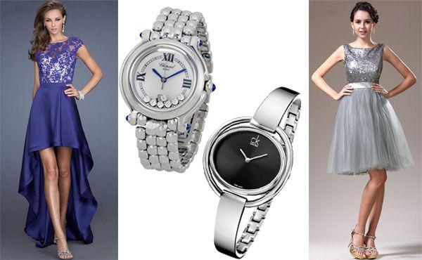 Женские брендовые часы Chopard и Calvin Klein