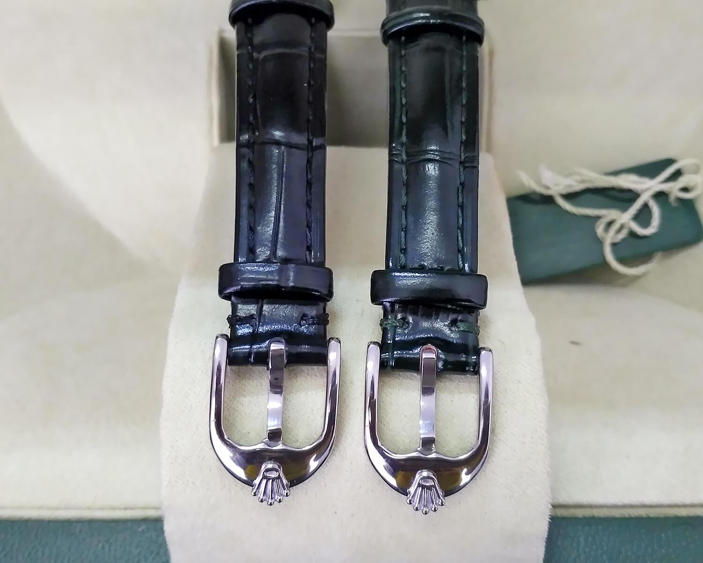Ремешки в репликах Rolex Cellini