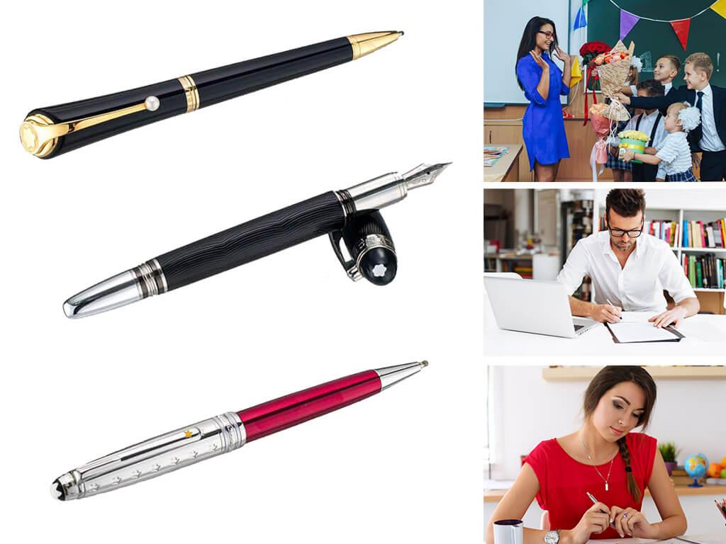 Брендовые ручки в подарок ко дню учителя