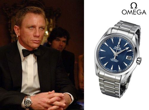Часы Omega Seamaster Aqua Terra James Bond Limited Edition 150M