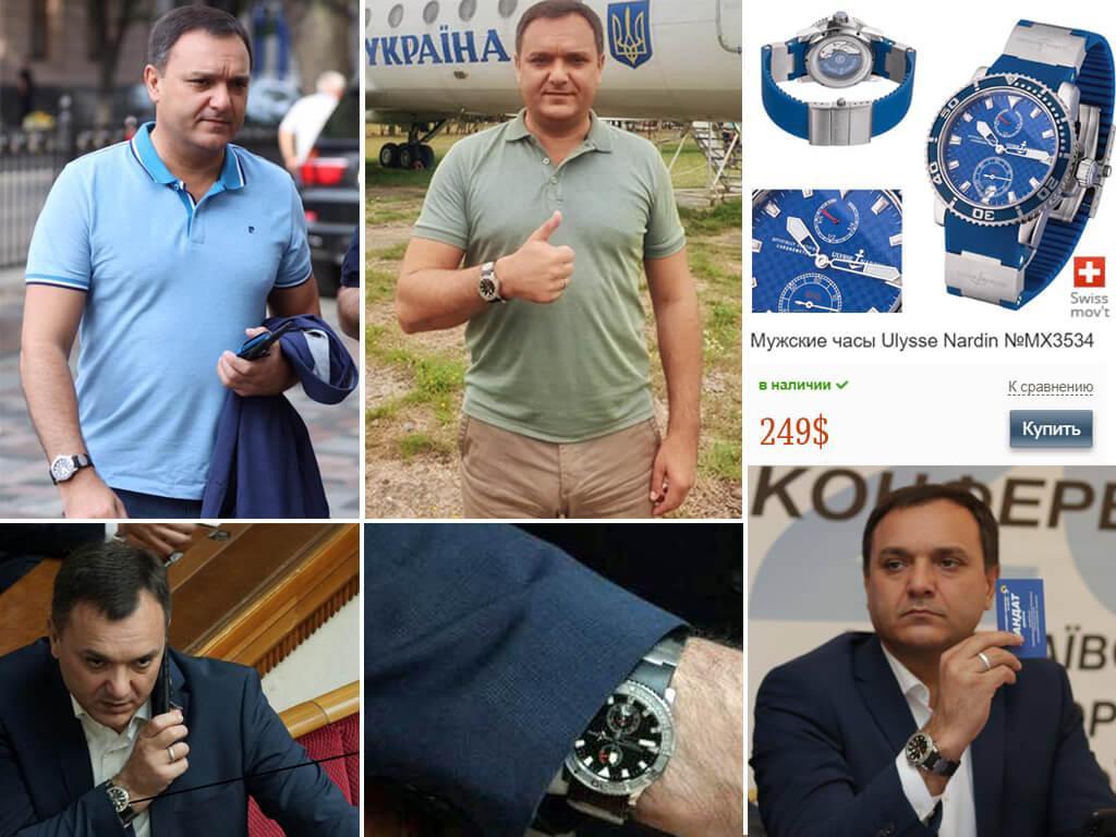 Часы Виктора Черного Улисс Нардин