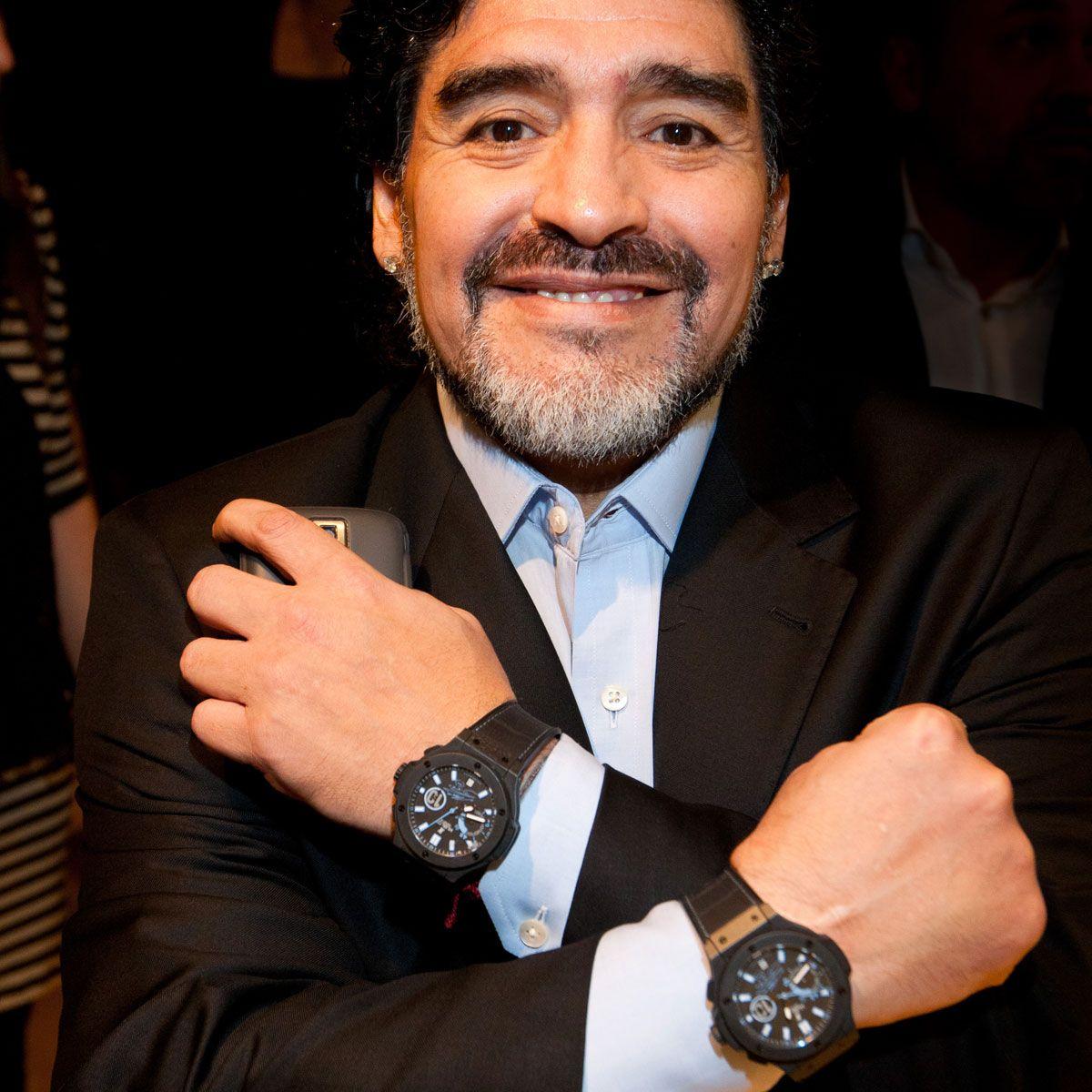 Наручные часы Диего Армандо Марадона Hublot