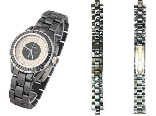 Часы Chanel керамический браслет