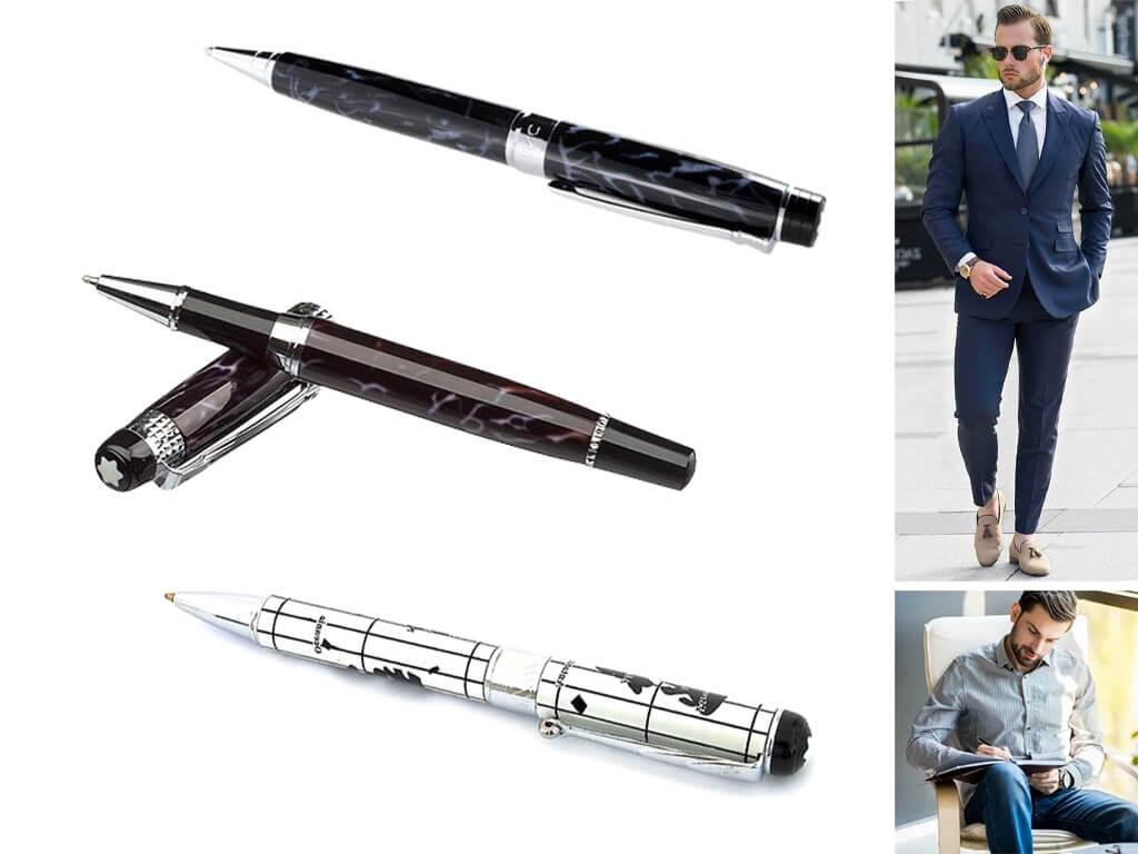 Брендовые ручки с рисунками для мужчин, парней