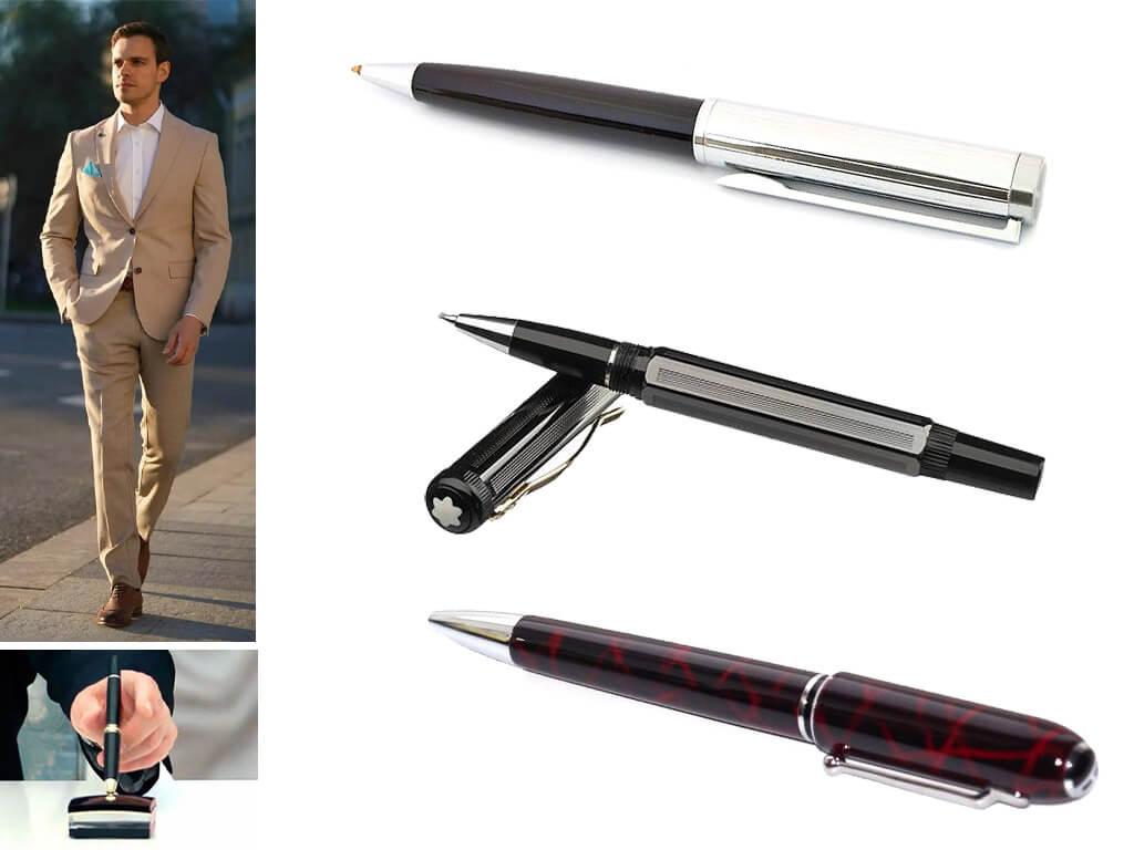 Глянцевые ручки для мужчин и женщин