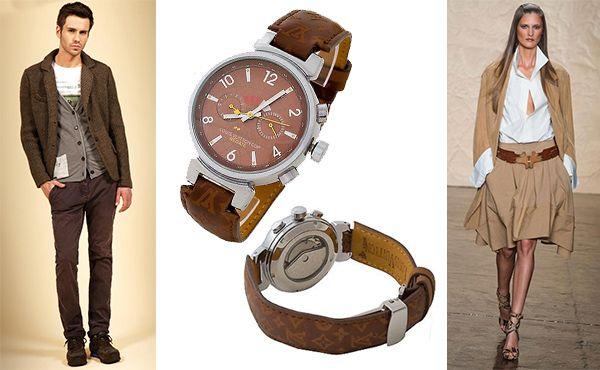 Louis Vuitton fashion часы