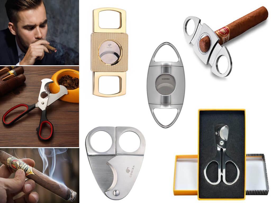Гильотины и ножницы для обрезки сигар