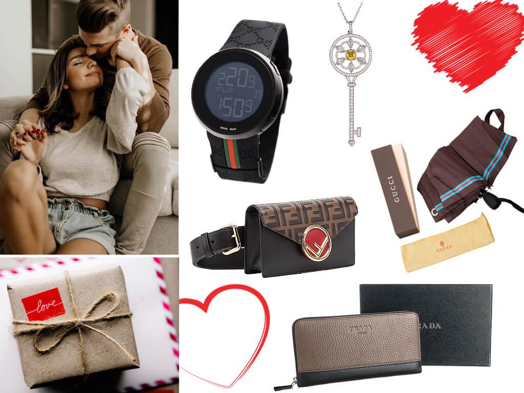 Подарки влюбленным на День Святого Валентина