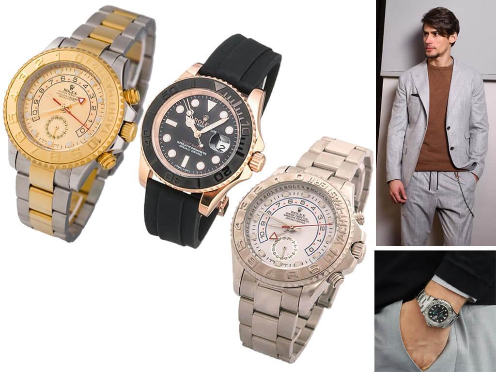 Часы мужские Rolex из коллекции Yacht-Master