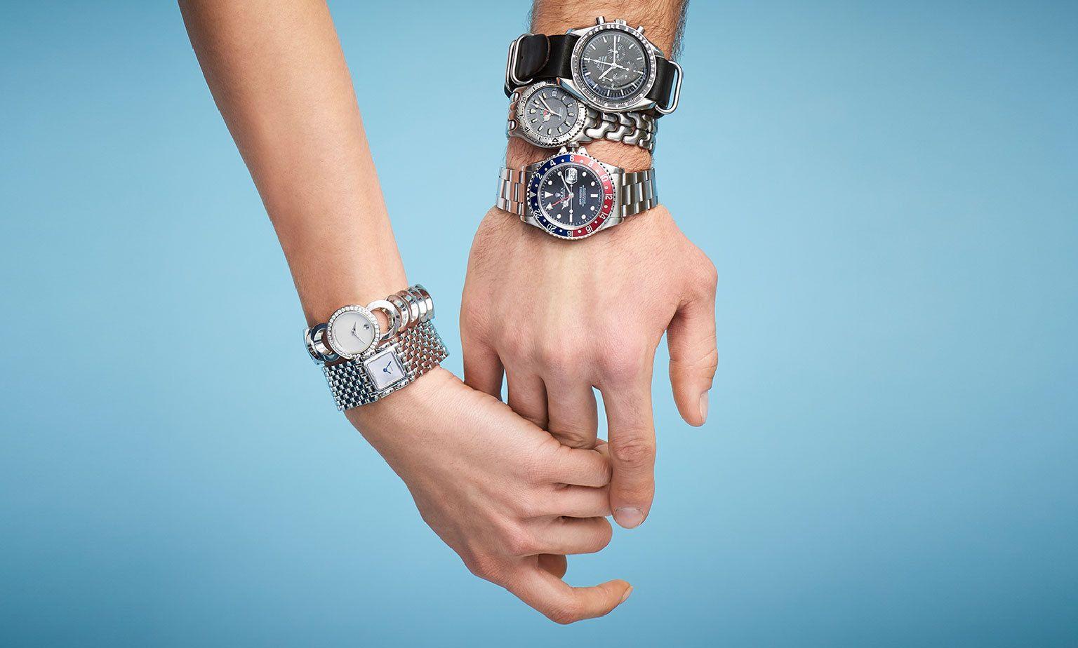 Высококачественные копии брендовых наручных часов