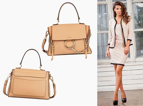 Женская сумка кожаная от Chloe