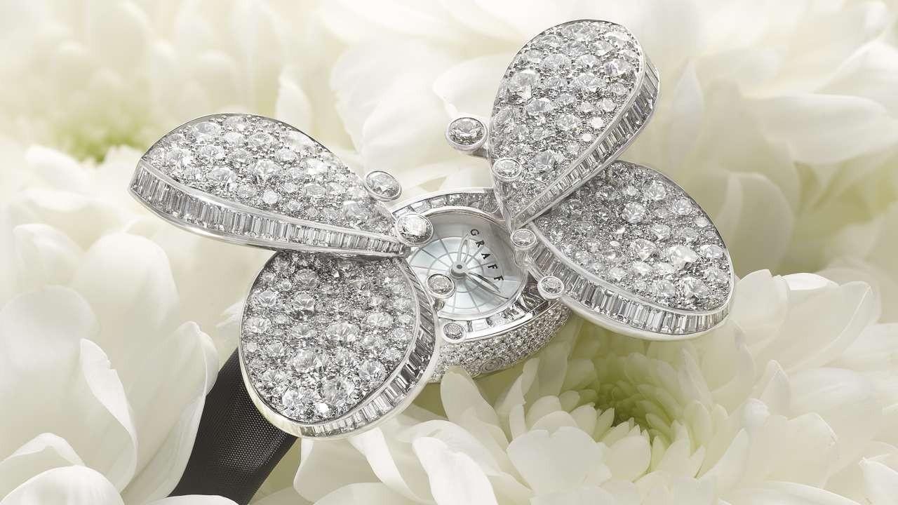 Секретные часы Princess Butterfly от ювелирного дома Graff