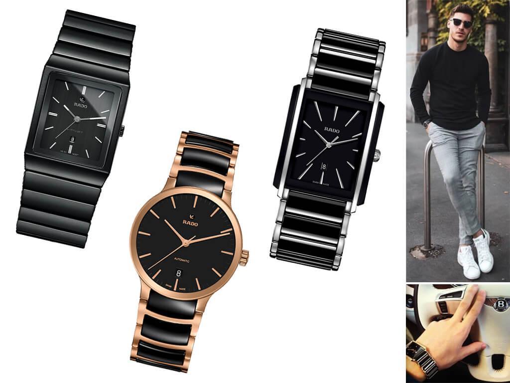 Настоящие часы Радо мужские