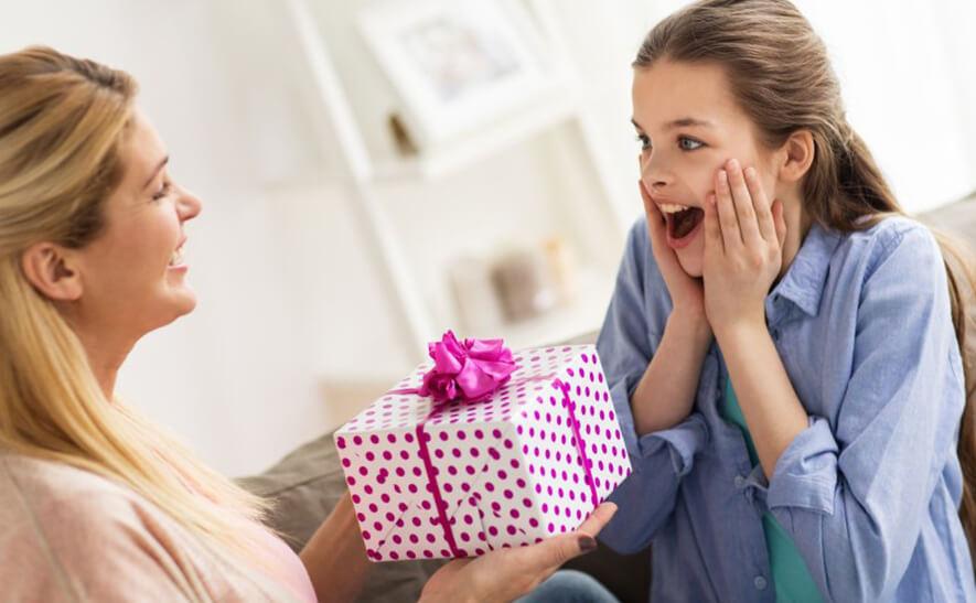 Подарок дочери в день рождения