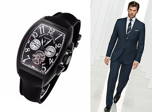 Мужские наручные часы Franck Muller Cintree Curvex