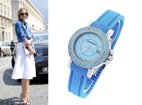 Женские часы Монблан