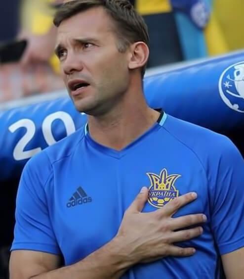 Андрей Шевченко - лучший футболист Украины