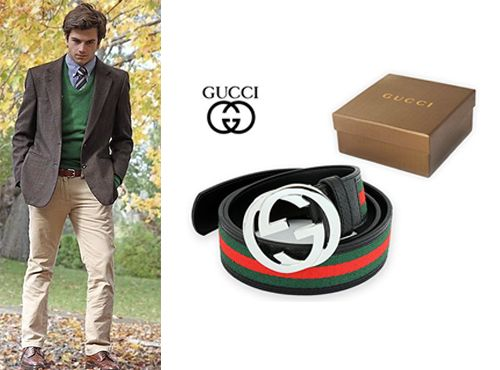 Мужской ремень от Gucci