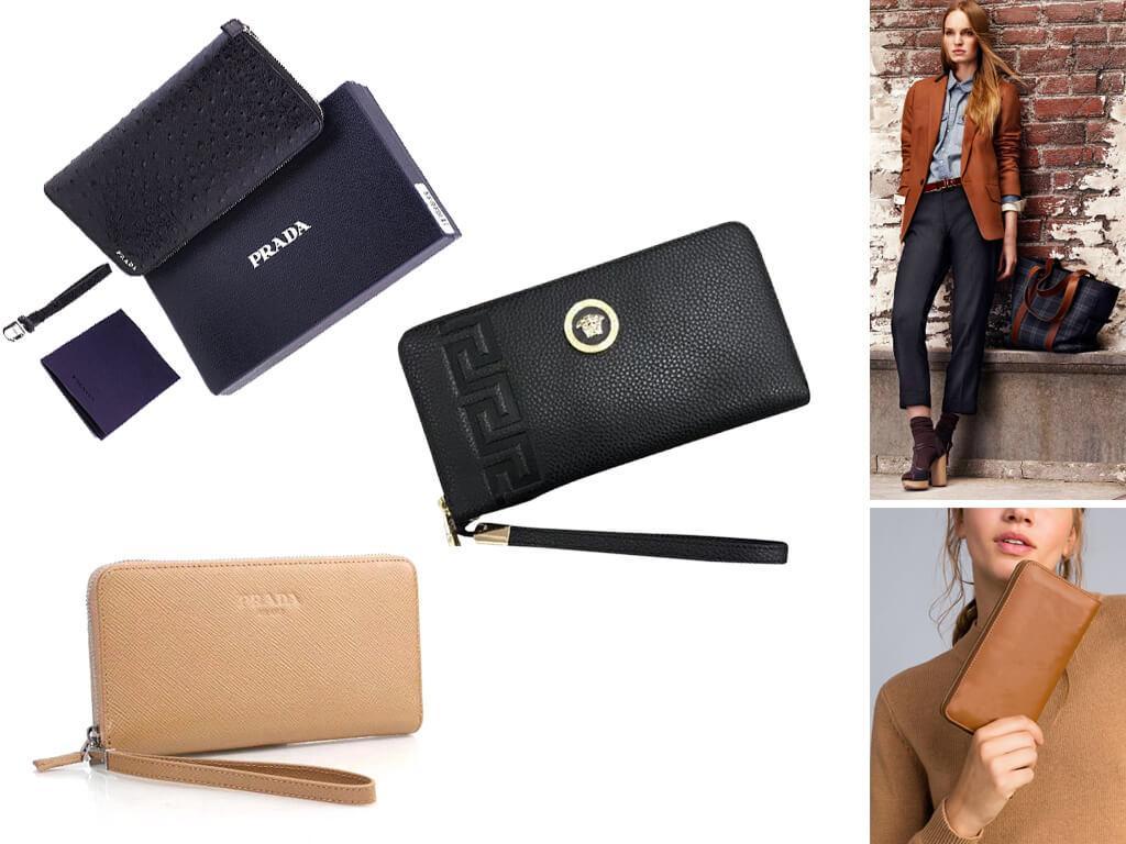 Женский кошелек на молнии - красивый, практичный и надежный аксессуар для хранения денег и не только