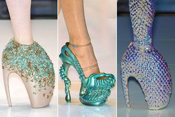 Обувь от McQueen