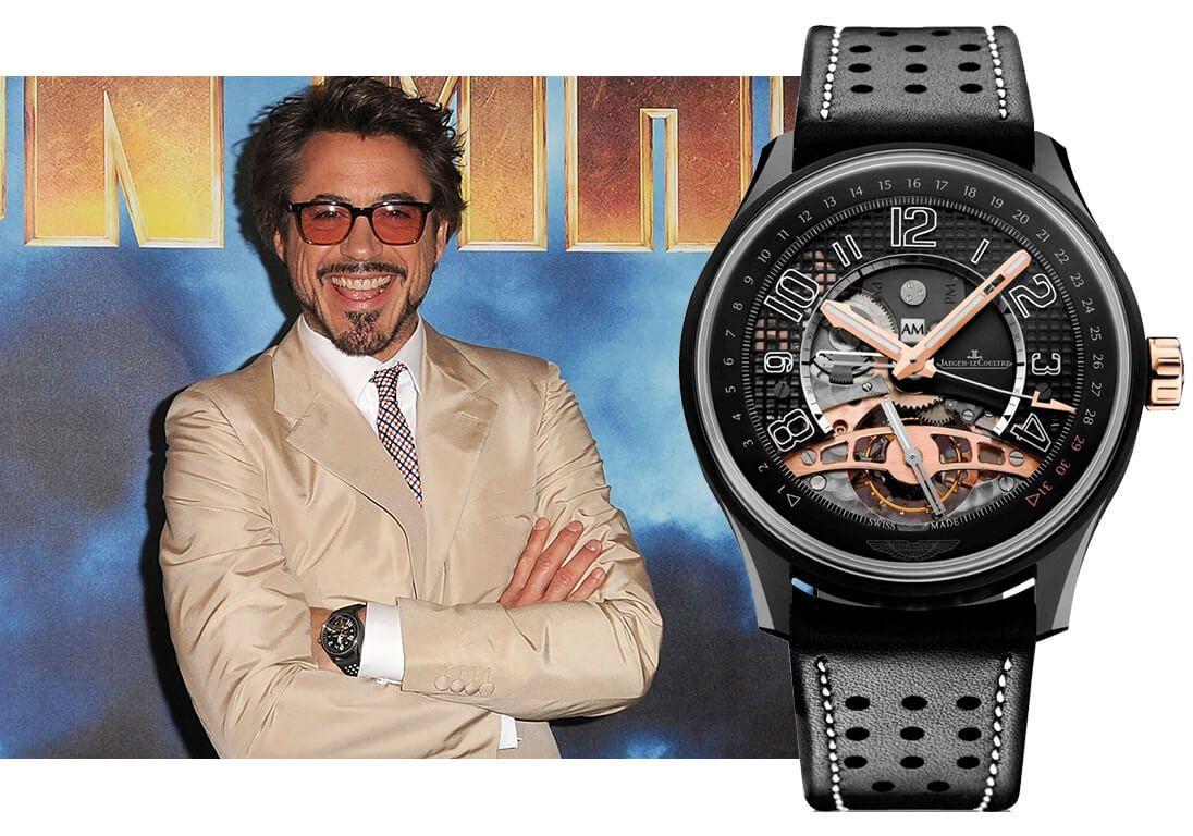 Часы Роберта Дауни-мл. Jaeger LeCoultre AMVOX 3