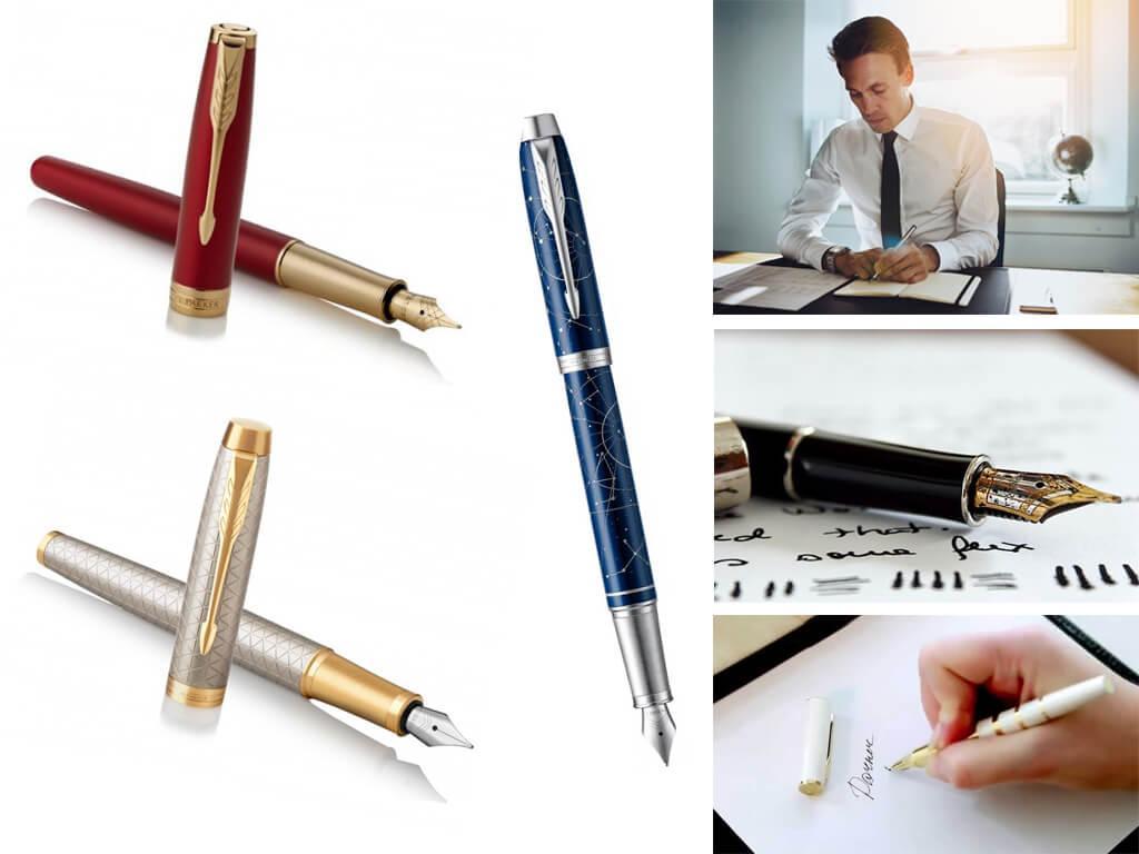 Перьевая ручка Паркер - элитный аксессуар для письма, подчеркивающий высокий статус владельца и его превосходный вкус