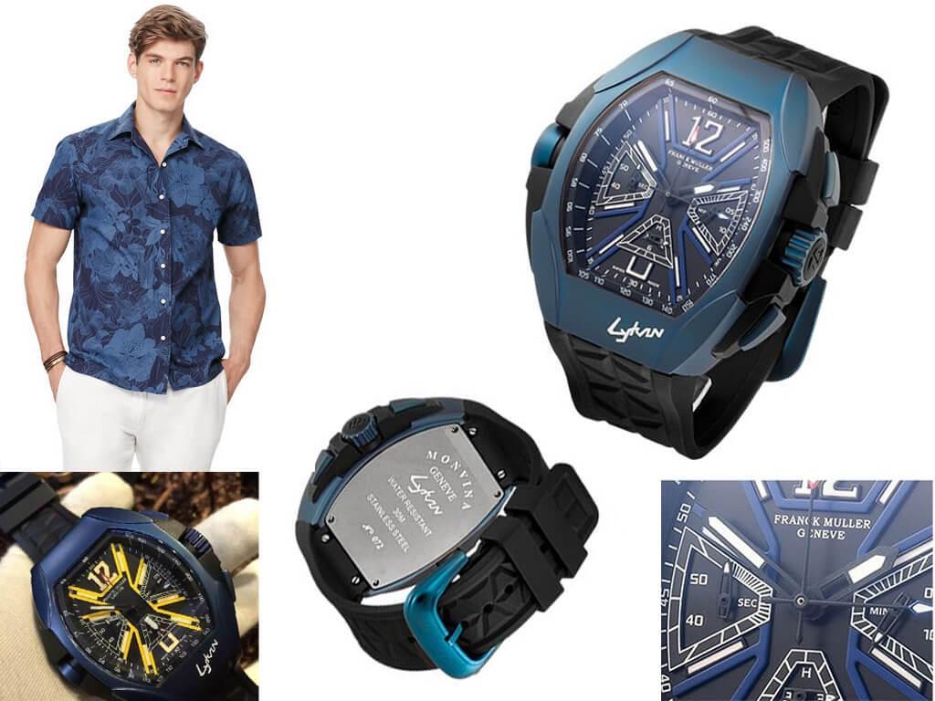 Мужские часы Franck Muller Lykan