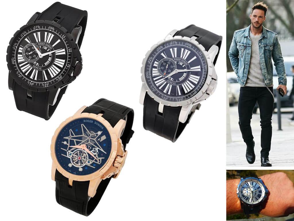 Часы мужские Roger Dubuis Excalibur
