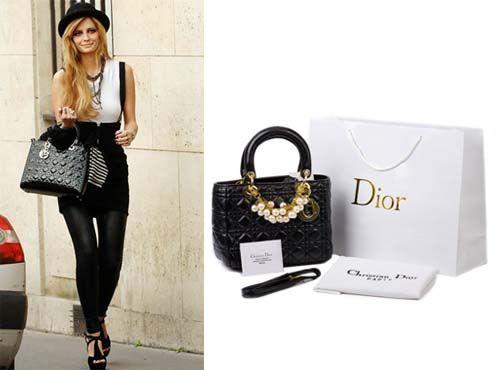 Сумка кожаная женская Christian Dior акция