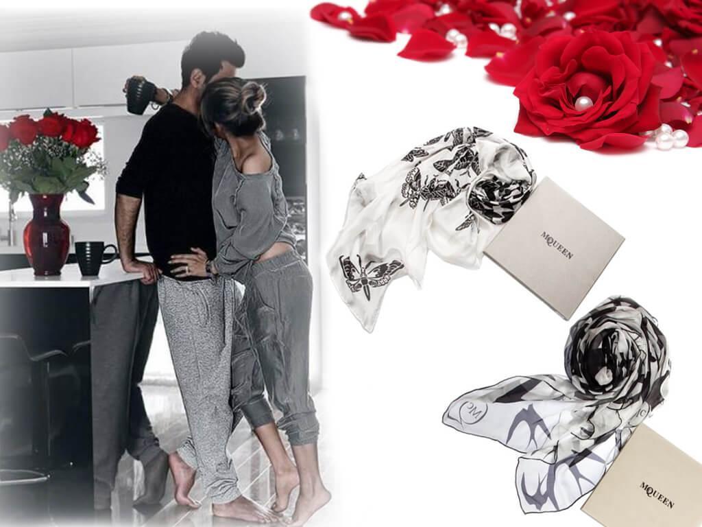 Подарить любимой женщине брендовый шарф или платок - прекрасная идея!
